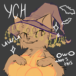 Halloween themed YCH [CLOSED] by elmira503