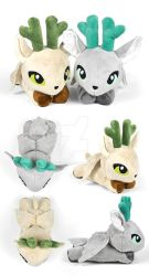 Peryton Plushies by SewDesuNe