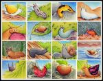 Snail Themed Memory Game by karpfinchen