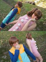 Finally together. Nanatsu no Taizai cosplay. by Giuzzys