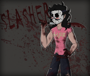 SLASHER by oO-Ender-Girl-Oo