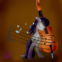 Octavia: Emotion is Music by Greeny-Nyte