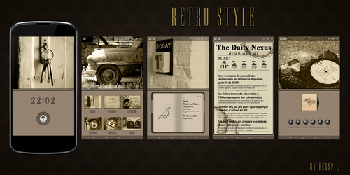 Retro Style by desspil