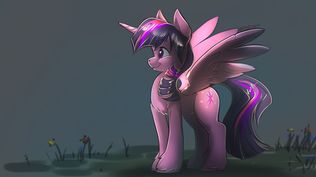 Princess Twilight Sparkle by Noben