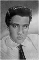 Elvis Presley by AndyBuck