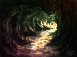 Cave Speedpaint by JRTribe