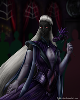 Laenthria at the masquerade by Fralle-chan