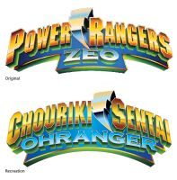 Ohranger logo, Zeo style by TRice01