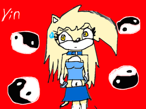 Yin The Hedgehog by WarriorNeverlilly