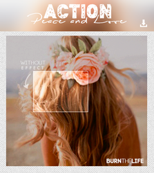 Peace and Love // Action by Burn-the-life