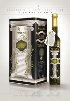 Priene Olive oil Package Design by byZED