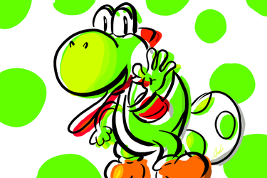Just Yoshi by ANDOR9