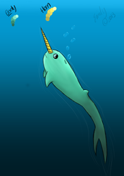 Narwhal! by horseluv01