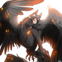 The Harpie by LeahFoxDen