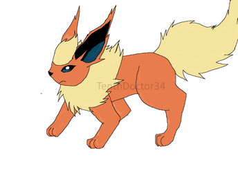 Flareon by TenthDoctor34
