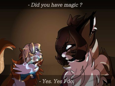 Did you have magic ?  by Yusura665