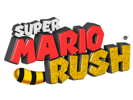 Super Mario Rush Logo by NuryRush