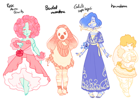 Gemsona Adopts [CLOSED] by Death2Eden