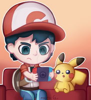 Lets Go Pikachu by mariag2002