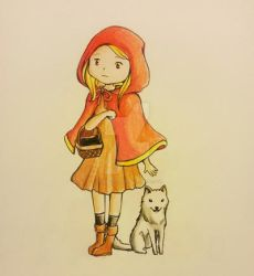 Red Riding Hood by rabbitDoodles