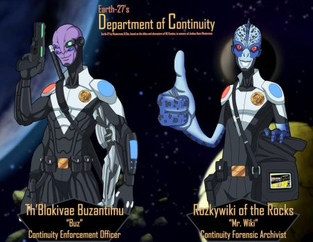 [Earth-27 Rosters] Department of Continuity by Roysovitch