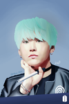 [DA] 090717 BTS Mint Suga by DisappointmentRao