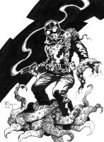 Lobster Johnson commission by PatrickMcEvoy