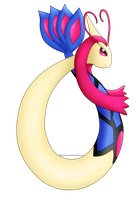 Quick Drawing - Milotic by RebornCyxaz