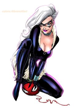Black Cat (variant) by Brenofil