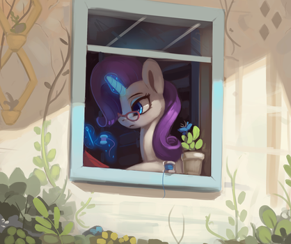 Rarity Window by Rodrigues404