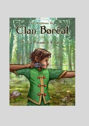 Boreal Clan  - Tome 1 cover by Gizmoatwork