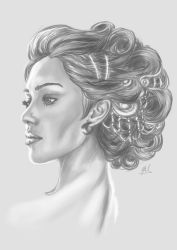 Portrait of a Lady by charligal