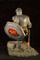 The Knight 03 Painted by clarkartist