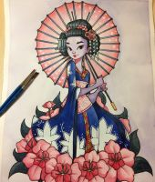 Geisha by ChrissieZullo