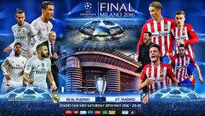 REAL MADRID - ATLETICO MADRID FINAL 2016 by jafarjeef