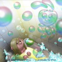 Bubbles monster by shatos