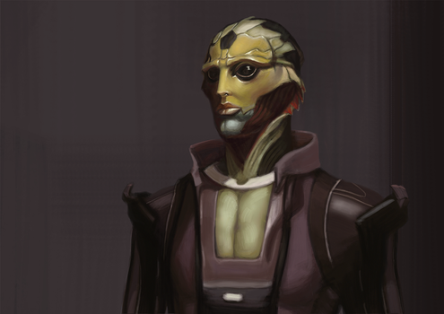 Thane Krios by girlofwind
