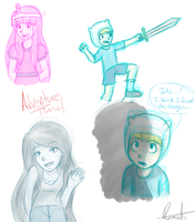 Adventure Time by QuiteRomantic