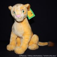 Lion King - Adult Nala Plush by Toyworld Germany by dapumakat
