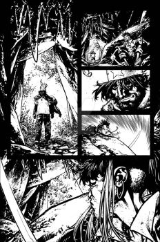 The Cape Fallen Issue 4 page 7 inks