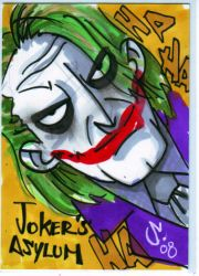 JOKER'S ASYLUM by LanceSawyer