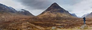 Highland Panorama by Lain-AwakeAtNight