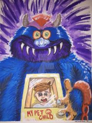 Pet monster by bedlamnac
