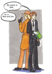 The Bob and The Joe by Sanwall