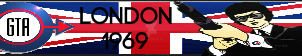 Grand Theft Auto London Fan Button by ZER0GEO
