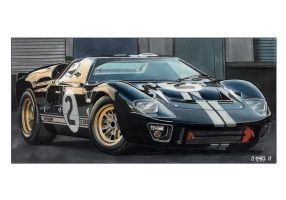 Ford Gt40 Shelby Mk2 1966 by Stephen59300