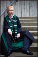 Draco- Slytherin Green by twinfools