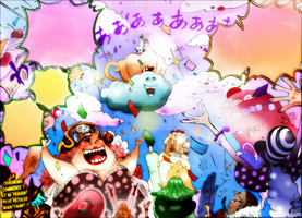 One Piece Chapter 861+ COLORS BIG MOM WEEDING END by Amanomoon