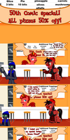 50th Comic - Jasper's Revenge... sorta by JasperPie