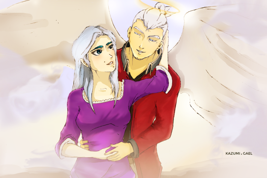 Me and You - Blue Owl Art Contest Entry by flintmarqus9